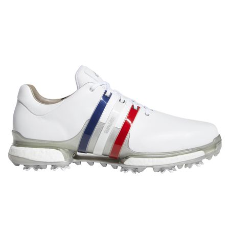 Shoes adidas TOUR 360 Boost 2.0 USA Men's Golf Shoes - Red/White/Blue Adidas Golf Picture