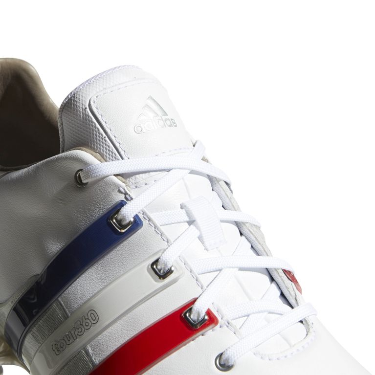 adidas TOUR 360 Boost 2.0 USA Men's Golf Shoes - Red/White/Blue ...