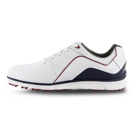 Golf undefined Pro/SL Men's Golf Shoe - White/Navy made by FootJoy