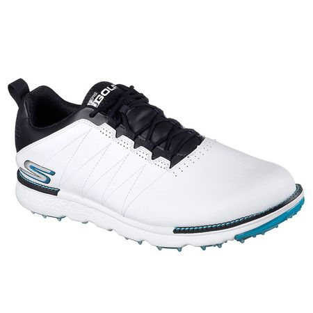 Shoes Skechers Go Golf Elite V.3 Men's Golf Shoe - White/Navy Skechers Picture