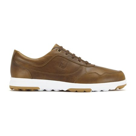 Golf undefined FootJoy Golf Casual Leather Men's Golf Shoe - Brown made by FootJoy