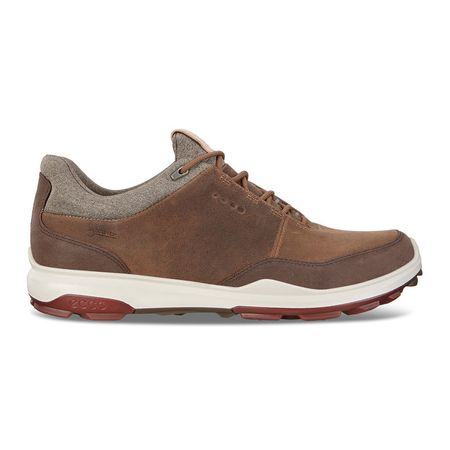 Shoes BIOM Hybrid 3 GTX Men's Golf Shoe - Brown ECCO Picture
