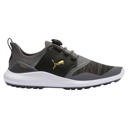 Golf undefined IGNITE NXT DISC Men's Golf Shoe - Grey/Black made by Puma Golf