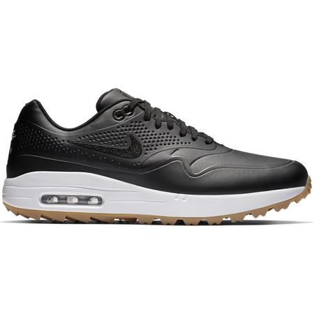 Shoes Air Max 1G Men's Golf Shoe - Black Nike Golf Picture