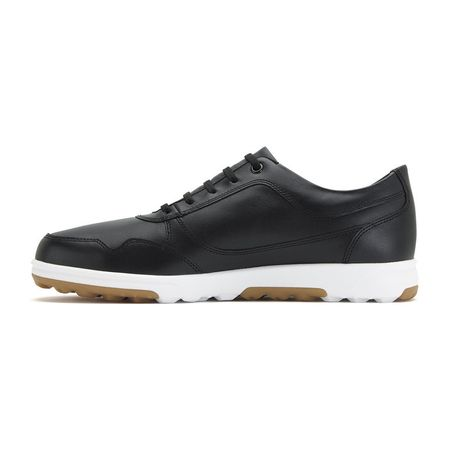 Golf undefined FootJoy Golf Casual Leather Men's Golf Shoe - Black made by FootJoy