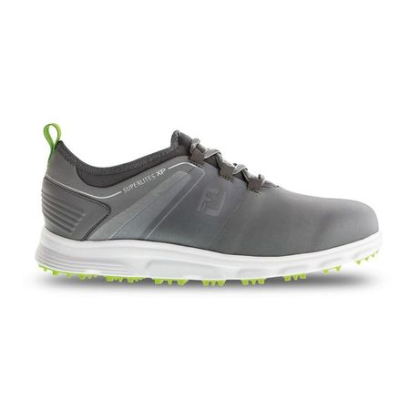 Shoes SuperLites XP Men's Golf Shoe - Grey/Green FootJoy Picture