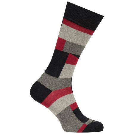 Golf undefined RS Block Color Sock Black - AW18 made by BOSS