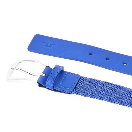 Golf undefined Caspian Elastic Braid Belt Daz Blue - AW18 made by J.Lindeberg