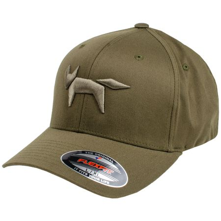 Golf undefined Flex Fit Cap Fox Logo Military - AW18 made by Wolsey