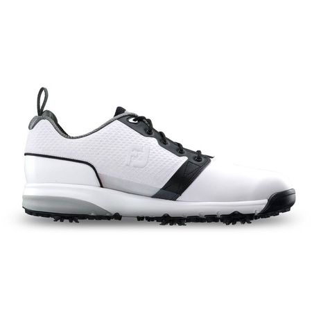 Golf undefined ContourFIT Men's Golf Shoe - White/Black (Previous Season Style) made by FootJoy