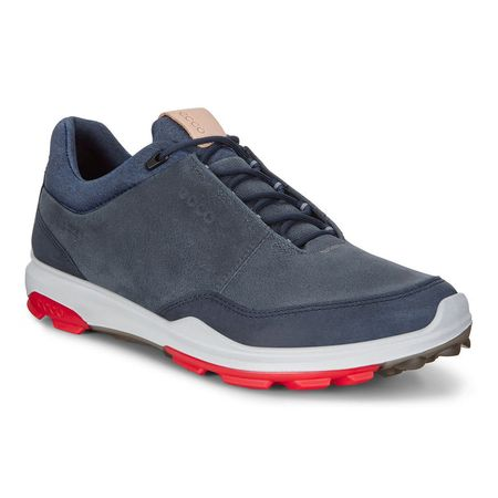 Golf undefined ECCO BIOM Hybrid 3 GTX Men's Golf Shoe - Navy/Red made by ECCO
