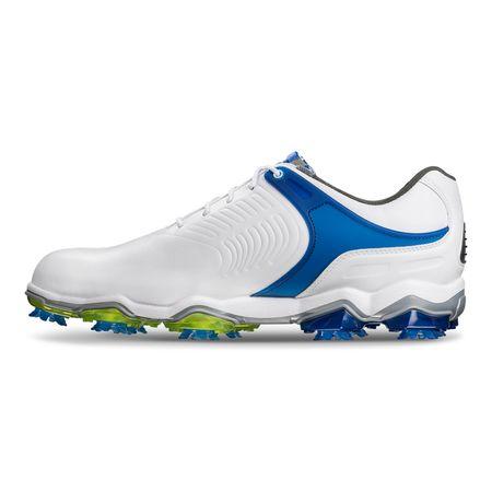 Shoes FooJoy Tour-S Men's Golf Shoe - White/Blue FootJoy Picture
