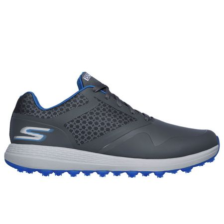 Golf undefined Skechers GO GOLF Max Men's Golf Shoe - Charcoal/Blue made by Skechers