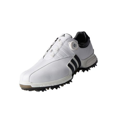 Golf undefined adidas TOUR 360 EQT Boa Men's Golf Shoe - White/Black made by Adidas Golf
