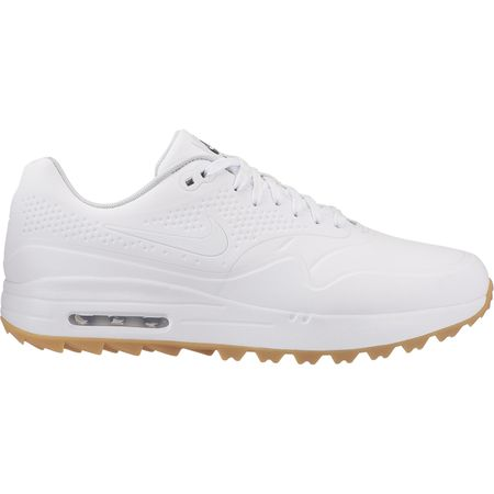 Shoes Air Max 1G Men's Golf Shoe - White Nike Golf Picture