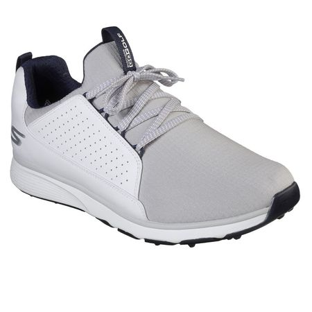 Shoes GO GOLF Mojo Elite Men's Golf Shoe - White/Grey Skechers Picture
