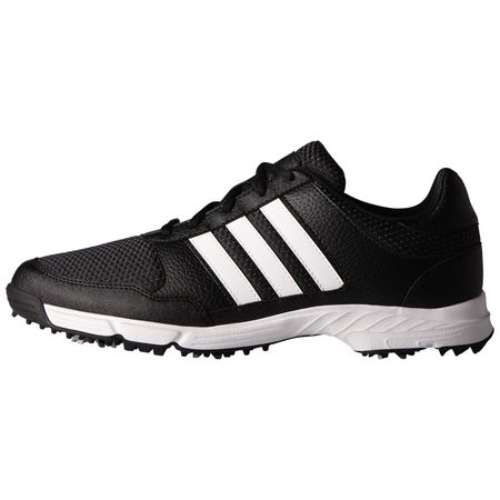 Golf undefined adidas Tech Response Men's Golf Shoe - Black/White made by Adidas Golf