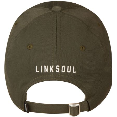 Golf undefined Make Par Not War Cap Olive - AW18 made by Linksoul