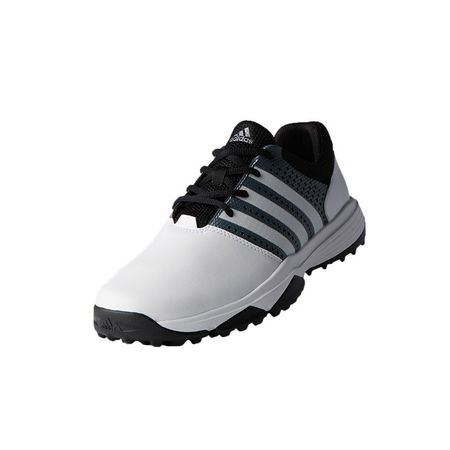Shoes adidas 360 TRAXION Men's Golf Shoe - White/Black Adidas Golf Picture