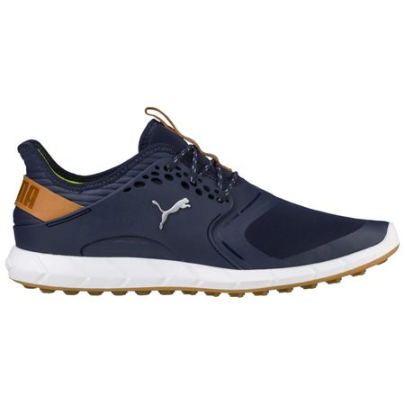 Shoes PUMA IGNITE PWRSPORT Men's Golf Shoe - Navy Puma Golf Picture