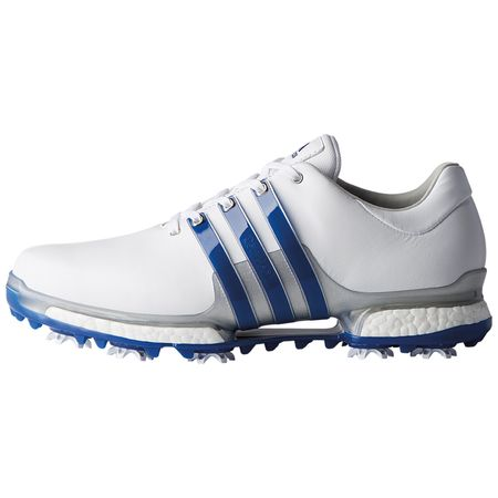 Golf undefined adidas TOUR 360 2.0 Men's Golf Shoe - White/Royal made by Adidas Golf