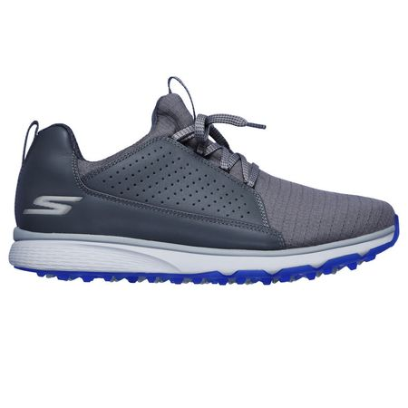 Golf undefined GO GOLF Mojo Elite Men's Golf Shoe - Charcoal/Blue made by Skechers