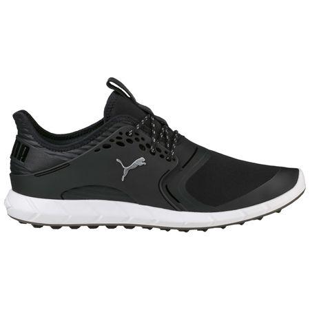 Shoes PUMA IGNITE PWRSPORT Men's Golf Shoe - Black/Silver Puma Golf Picture