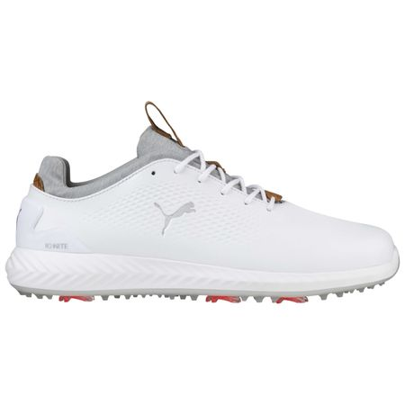 Golf undefined PUMA IGNITE PWRADAPT Leather Men's Golf Shoe - White made by Puma Golf