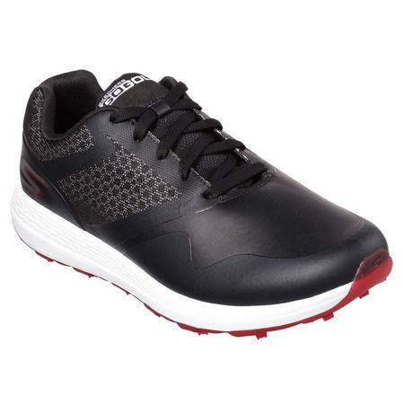 Shoes Skechers GO GOLF Max Men's Golf Shoe - Black/Red Skechers Picture