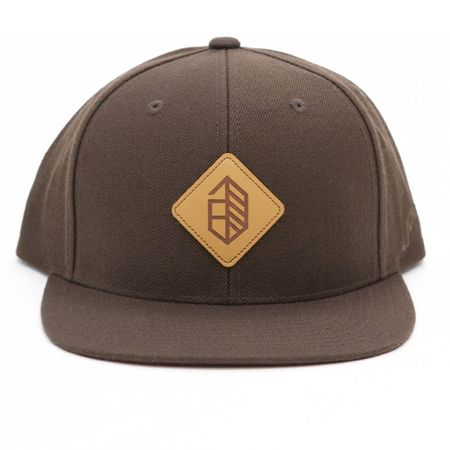 Golf undefined Utility Series Wool Snapback Brown - 2018 made by Jones Golf Bags