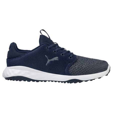 Shoes GRIP FUSION Sport Men's Golf Shoe - Navy/White Puma Golf Picture
