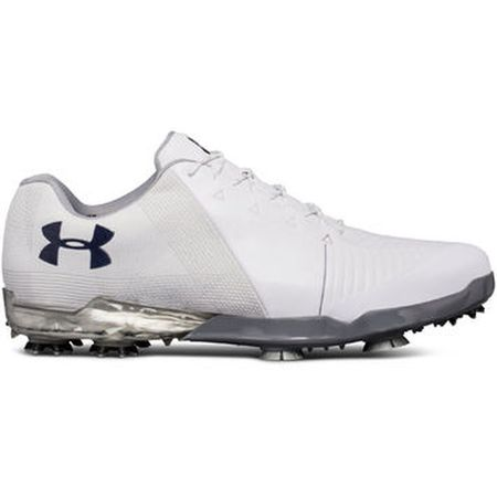 Golf undefined Under Armour Spieth 2 Men's Golf Shoe - White made by Under Armour