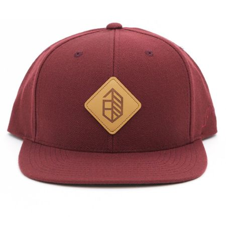 Golf undefined Utility Series Wool Snapback Maroon - 2018 made by Jones Golf Bags