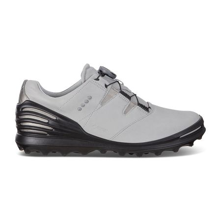 Golf undefined ECCO Cage Pro BOA 2 Men's Golf Shoe - Light Grey made by ECCO