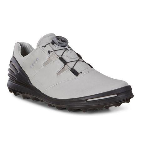 Shoes ECCO Cage Pro BOA 2 Men's Golf Shoe - Light Grey ECCO Picture