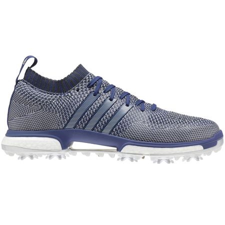 Shoes adidas Tour360 Knit Men's Golf Shoe - Blue/Grey Adidas Golf Picture