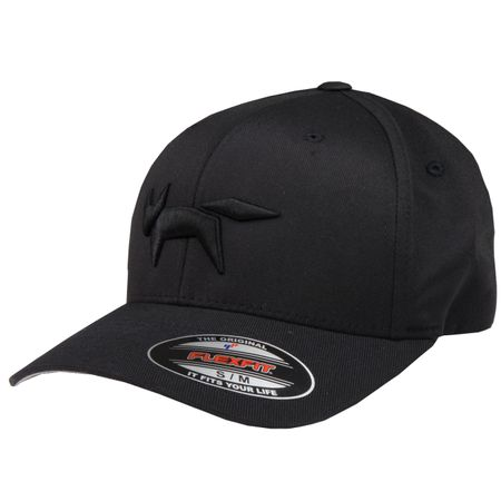 Golf undefined Flex Fit Cap Fox Logo Black - 2018 made by Wolsey