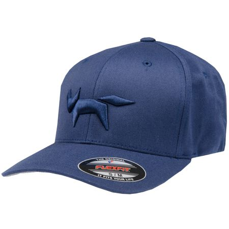 Golf undefined Flex Fit Cap Fox Logo Total Eclipse - AW18 made by Wolsey