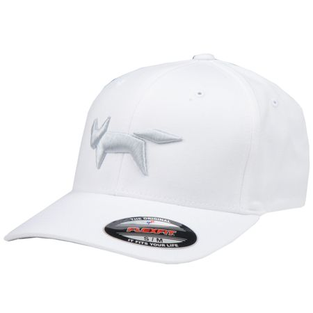 Golf undefined Flex Fit Cap Fox Logo White - AW18 made by Wolsey