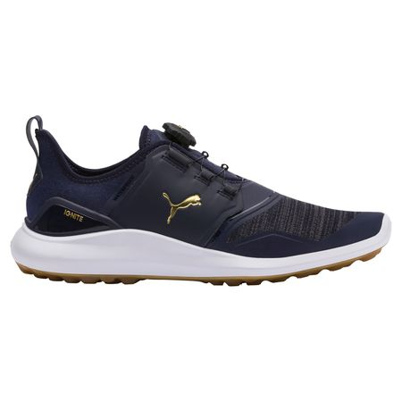 Golf undefined IGNITE NXT DISC Men's Golf Shoe - Navy/White made by Puma Golf