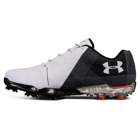 Shoes Under Armour Spieth 2 Men's Golf Shoe - White/Black Under Armour Picture