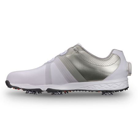 Golf undefined FootJoy Energize BOA Men's Golf Shoe - White/Silver (Previous Season Style) made by FootJoy