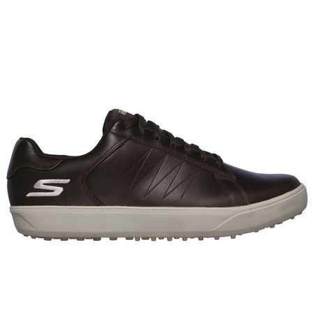 Golf undefined Skechers GO GOLF Drive 4 - LX Men's Golf Shoe - Brown made by Skechers