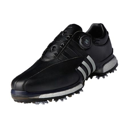 Shoes adidas TOUR 360 EQT Boa Men's Golf Shoe - Black/White Adidas Golf Picture