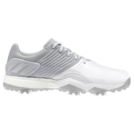 Golf undefined adidas adipower 4ORGED Men's Golf Shoe - Silver made by Adidas Golf