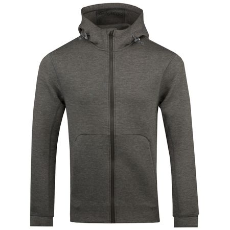 Golf undefined Athletic Hoodie Grey Melange - 2019 made by J.Lindeberg