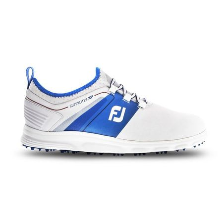 Golf undefined SuperLites XP Men's Golf Shoe - White/Blue made by FootJoy