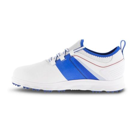 Shoes SuperLites XP Men's Golf Shoe - White/Blue FootJoy Picture