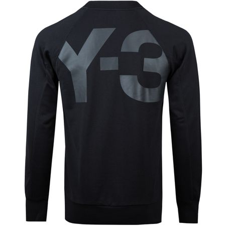 Golf undefined Back Print Classic Sweater Black - 2018 made by Y-3 SPORT