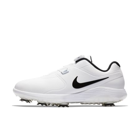 Golf undefined Nike Vapor Pro BOA Men's Golf Shoe - White/Black made by Nike Golf